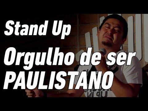 ISSO É SER PAULISTANO - Stand Up Comedy - André Santi