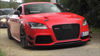 750 HP Audi TT RS Plus GTX35 - LOUD Acceleration & SOUND!