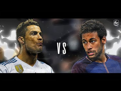 Neymar Jr. vs Cristiano Ronaldo 2018 - Real Madrid vs PSG 3-1   HD