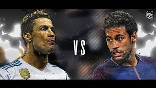 Neymar Jr. vs Cristiano Ronaldo 2018 - Real Madrid vs PSG 3-1 | HD