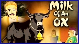 Akbar And Birbal In Tamil | Milk of An Ox |  Animated Stories For Kids | Rhyme4Kids