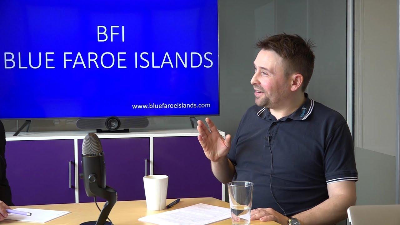 Samrøða við Brandur H. Í Funningsstovu, deildarleiðari á Sjónám (2 / 2)