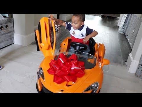 Surprising Our Son With His Dream Car For His Birthday | DJ's Clubhouse