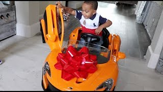 Surprising Our Son With His Dream Car For His Birthday | DJ
