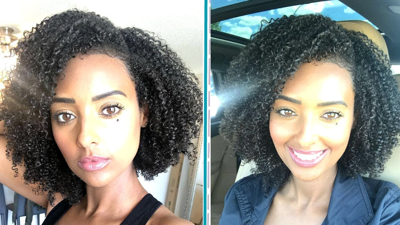 Type 4 Hairstyles: BEST WASH N GO EVER TYPE 4 NATURAL HAIR
