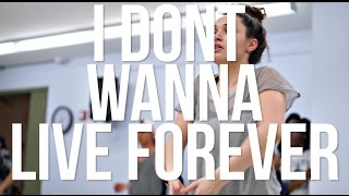 I DON'T WANNA LIVE FOREVER - ZAYN and TAYLOR SWIFT | Miles Keeney Choreography