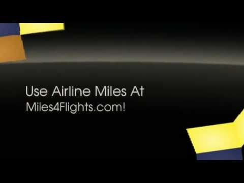 Redeem Airline Miles with Major Credit Cards!