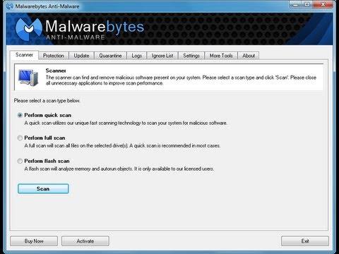 malwarebytes fix now not working