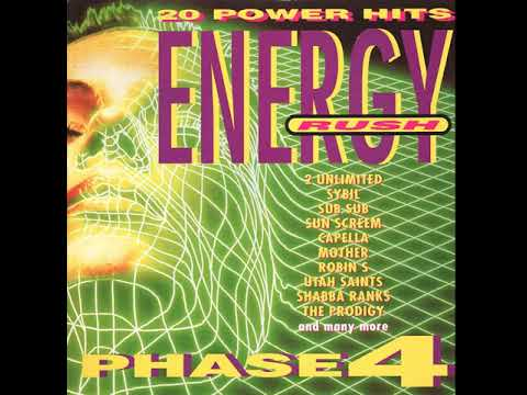 Various Artists - Energy Rush: Phase 4 front cover