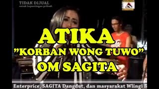Download lagu ATIKA OM SAGITA KORBAN WONG TUWO LIVE IN WLINGI BLITAR 2015 MP3