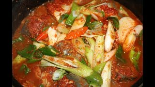 고등어무조림 황금레시피 : Korean Food ; godeungeo jorim / Braised Mackerel