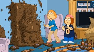 Family Guy  Peter turned into chocolate candy