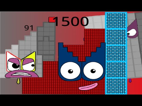 Numberblocks 50 Learn To Count From 150 Fanmade Numberblocks