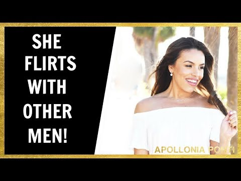 She Flirts With Other Men!