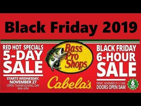Bass Pro Shops & Cabelas Black Friday Deals (2019)