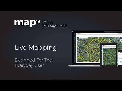 map16 Asset management Live Mapping