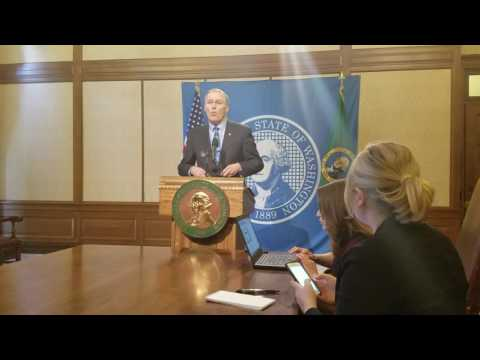 Gov. Jay Inslee responds to Trump's new executive order on immigration