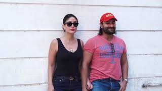 Kareena Kapoor Khan's Gorgoeus H0T look with Saif Ali Khan Outside Facebook Office