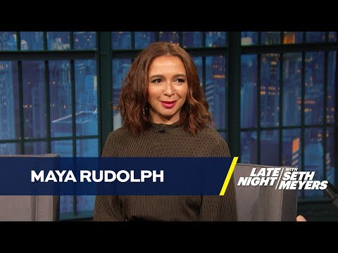 Maya Rudolph's Sexy Secret Ivanka Trump Impression