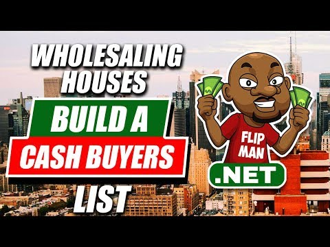 How To Find Cash Buyers | Wholesaling Houses Step by Step | FlipMan.net