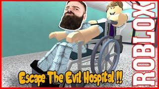 Zombies ?! Escape From The Evil Hospital - Roblox - Full Level Gameplay