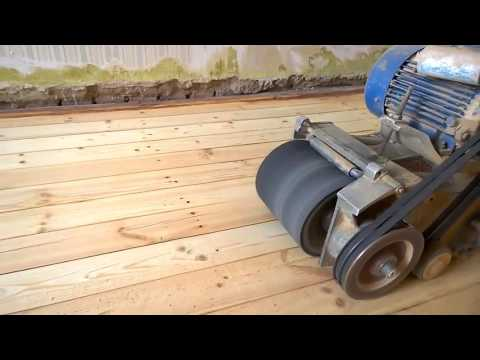 Шлифовка деревянного пола СО-206