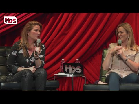 Sam Bee and Ana Gasteyer at NYCF: Will Ivanka Trump Be Our First Female President?  TBS