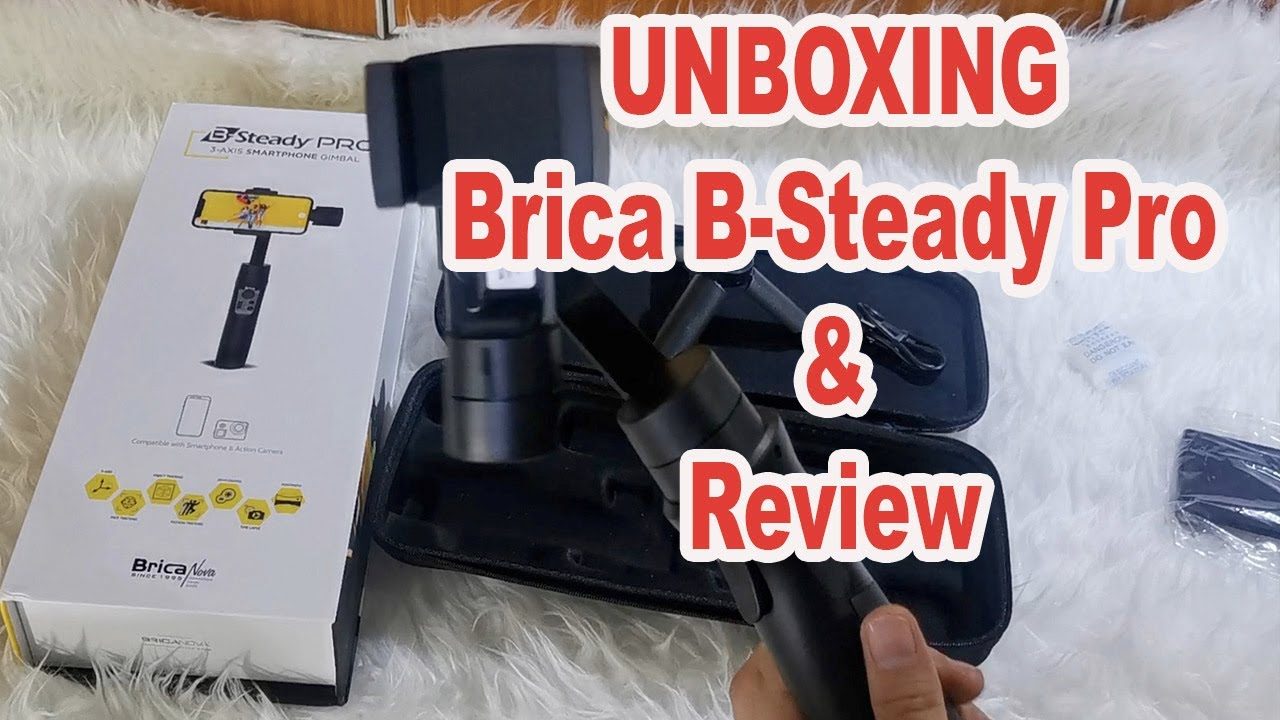 unboxing handson gimbal brica B-Steady Pro indonesia | by TutoTech