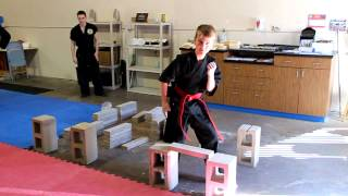 Martial Arts For Kids In Monument, Co: Breaking Bricks Ii