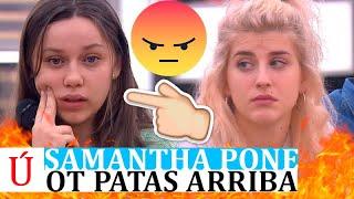 La cagada de Samantha que desvela la relación de Eva y Rafa, Hugo y Anajú y Jesús y Nia en OT 2020