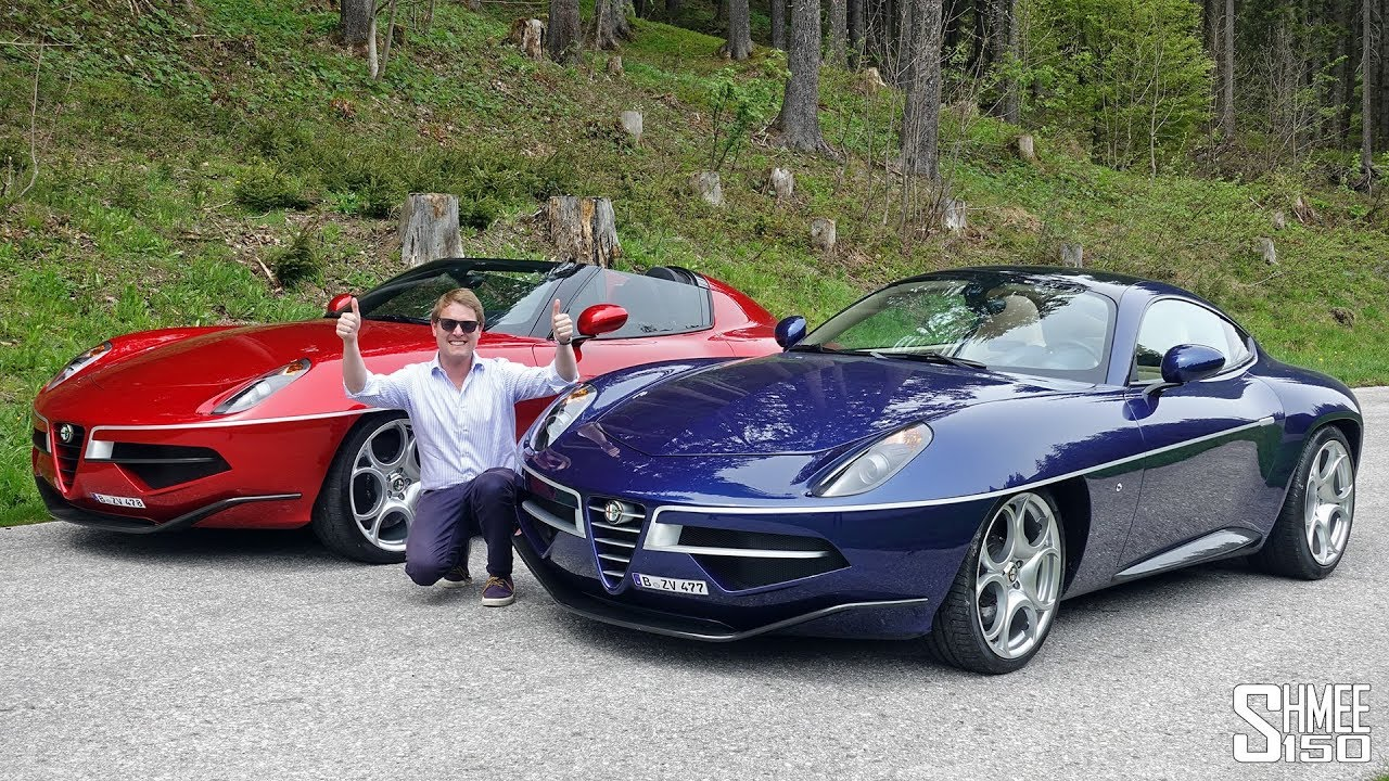 Alfa Romeo Disco Volante For Sale >> Double Disco Volante Drive Visiting A Connoisseur S Car Collection