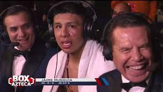El mejor análisis de las peleas de Jaime Munguía y Alejandra Jiménez por Box Azteca Team