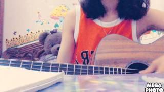 Vệt nắng cuối trời guitar cover by Hường Kẹo