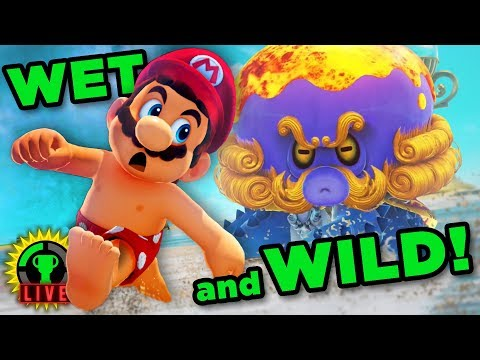 GTLive: TROUBLE IN PARADISE! | Super Mario Odyssey