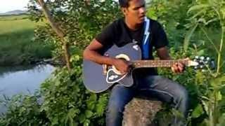 Mein Teri Ankhon me ,Sajani Guitar chords AkshayThakur Ak