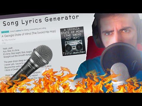 Using a SONG LYRIC GENERATOR..