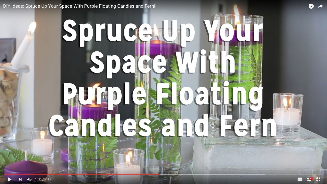 Diy Ideas Spruce Up Your Space With Purple Floating