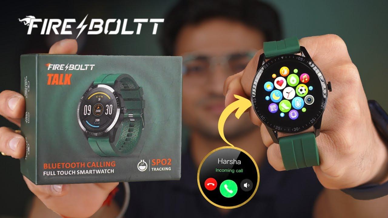 Fire Boltt BSW004 Smartwatch Unboxing⚡️| Bluetooth Calling & Speaker SmartWatch 🤯| Is It Worth.?🧐