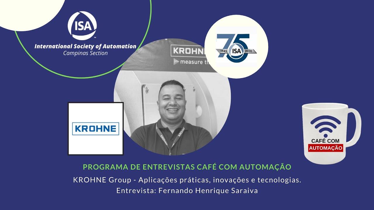 Café Com Automação - Fernando Henrique Saraiva - Krohne