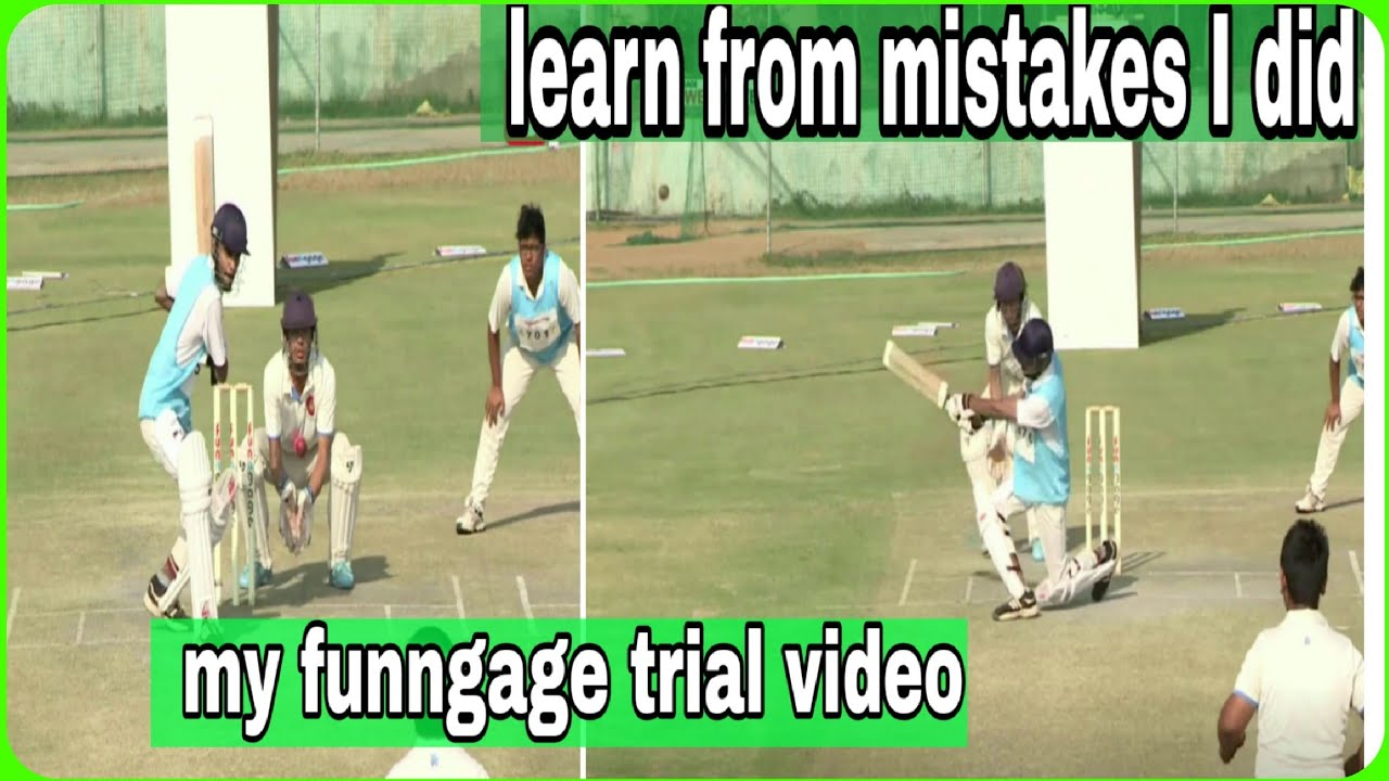 my funngage trial video. yeh galtiya tum mat krna-learn from my mistakes.sports yard