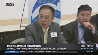 NYC Officials Discuss Coronavirus Prepartions