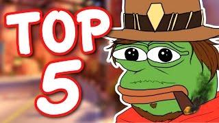Overwatch - TOP 5 HARDEST HEROES