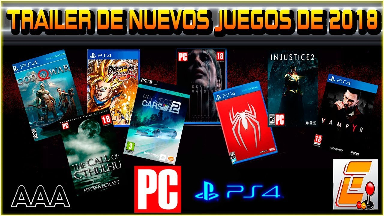 Top Estrenos De Juegos Aaa Para Pc Y Ps4 2018 Youtube
