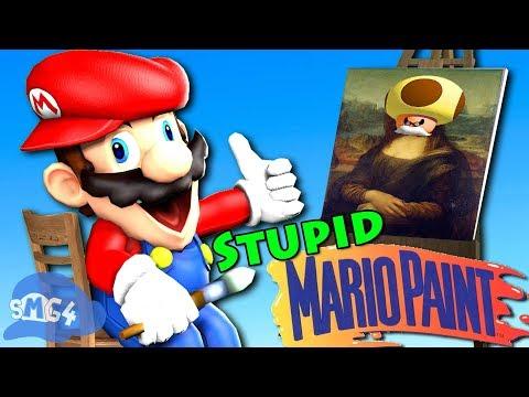 SMG4: Stupid Mario Paint