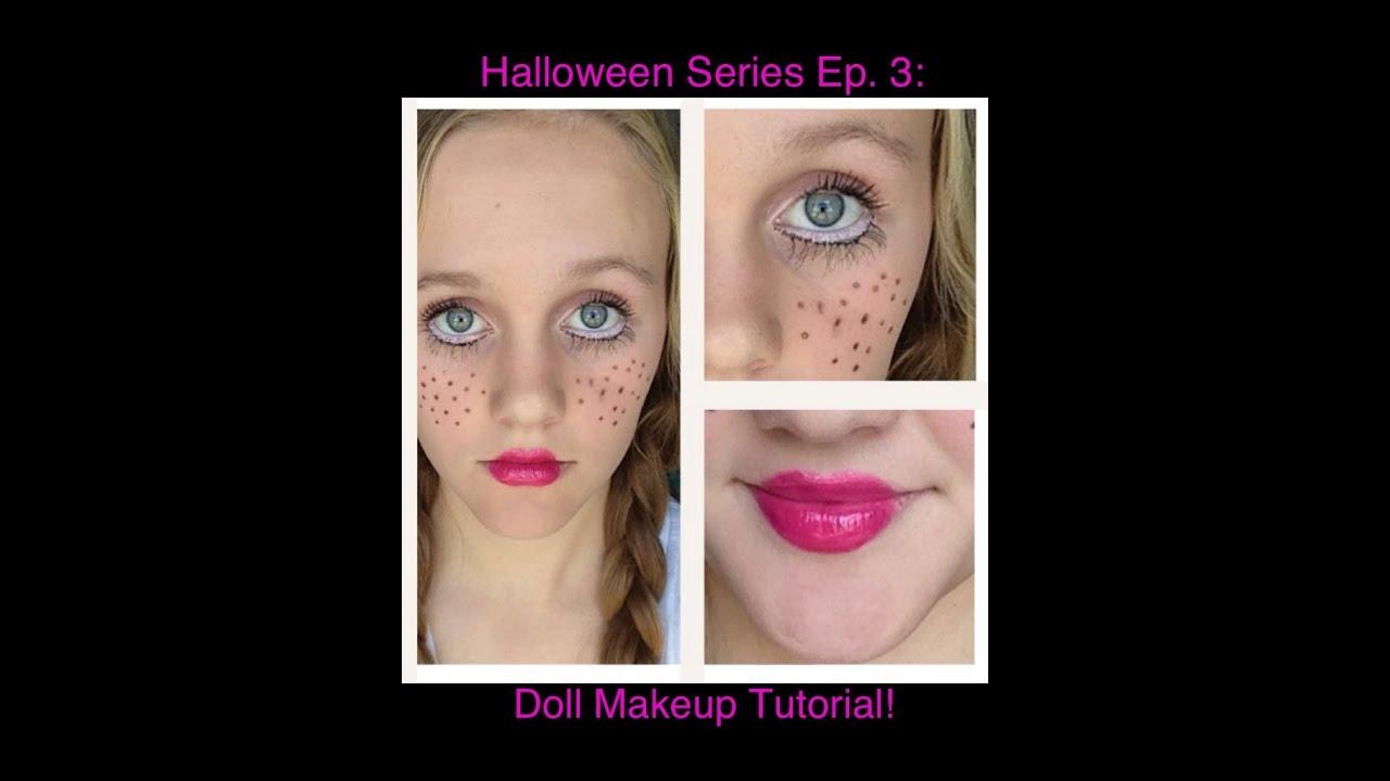 Halloween Series Ep. 3: Cute Doll Makeup Tutorial