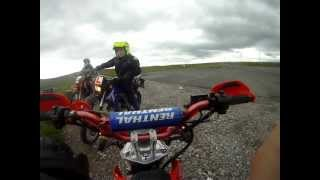 Hartside Cafe to penrith on a pit bike 50cc supermoto