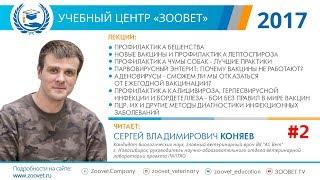 C. В. Коняев в УЦ «Зоовет» | Бешенство, вакцины, чума собак | ч. 2/5