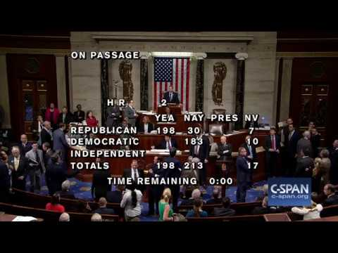 U.S. House rejects Farm Bill (C-SPAN)