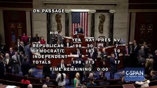 U.S. House rejects Farm Bill (C-SPAN)