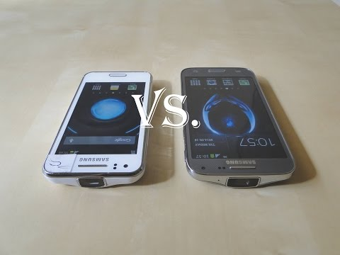 Benchmark test Samsung Galaxy BEAM 2 vs. Galaxy BEAM